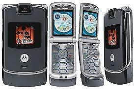Motorola V3 GSM Razr, Mint Condition