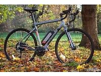Electric bike Carrera Crossroad only used couple of times read description