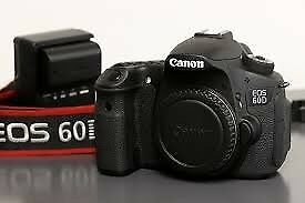Canon 60D DSLR Camera Hardly Used - Boxed