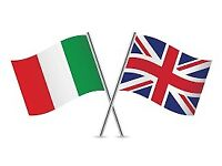 Your Italian in exchange for my English