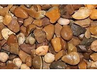 20mm Quartz Trent Valley River Gravel Decorative Aggregate Per Tonne