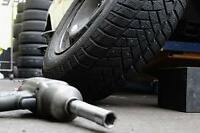 Winter Tire Changing Service