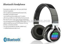 wireless folding bluetooth headphones