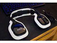 astro a40 wireless white + mixamp + li-ion battery fully boxed