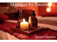 *full body massage by Emma**