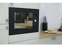 £75 New Built in 20L Russell Hobbs RHBM2003MB Microwave -Massive Saving - Benefit from my mistake!