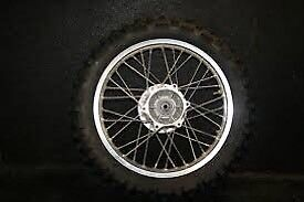 Wanted-rear wheel drz/klx 125