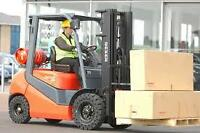 FORKLIFT OPERATORS NEEDED IN GTA! ALL SHIFTS AVAILABLE!