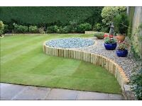 West midland garden services landscapes/turfing/fencing/slabbing/general maintainance