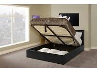 DOUBLE BEDS - KING SIZE BEDS AVAILABLE - OTTOMAN STORAGE BEDS - TV BEDS - MATTRESSES - DELIVERED