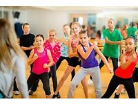 Kids party fit class