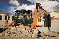 Basic excavation  and rock breaking services