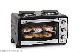 Andrew Jamens Mini Hob Oven Grill for Sale.