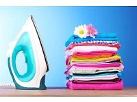 Ironing services available from home.