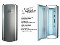 Tansun Sapphire Sun Shower, Ex Demo, Excellent Condition 24 tube stand and tan Upgraded Tubes