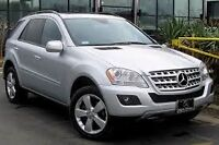 WANTED: 2008 - 2009 Mercedes-Benz ML350 / 500 / 550 SUV