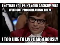 Proof reading by an English Teacher. Native Speaker. Essays, assignment, personal statement, CVs etc