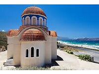 2 x Flights to Crete (Heraklion)