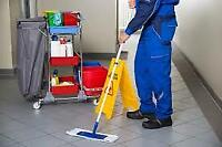 Janitorial Position in Hamilton Industrial Environment