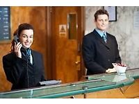 Hotel Reception Staff Needed - Full Time Position - Immediate Start