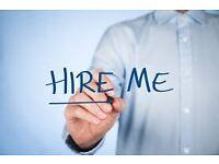 CV writing and job application help