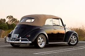 Old bug wanted! 55-66 beetle only. Cash in hand