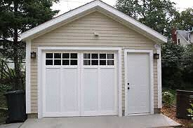 Heated garage wanted over winter.