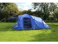 Eurohike 6 man tent ( huge family tent ) with lots of camping equipment only used once as new