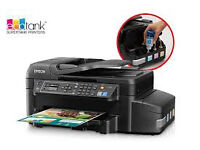 Used - Epson EcoTank ET-4500 All-in-One Ink Colour Printer £100 ONO
