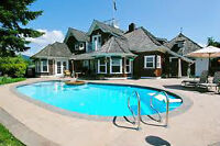 Pool opening special !! above ground $150 --->in ground $160