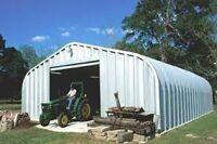 Large steel garage for rent