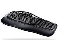 Wavy keyboard/keypad
