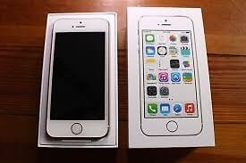 Apple iphone 5s, white, boxed, excellent condition