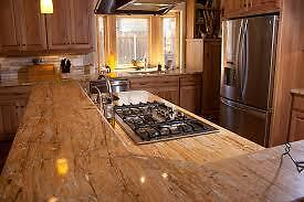 Kitchen countertop slabs