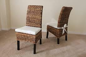 Chaises salle a manger/ Dining room chairs