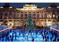 2 tickets to Ice Skating at Somerset House 25th Nov at 8pm