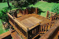 FREE ESTIMATES Start planning your Deck, Fence or Shed Today