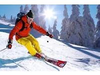 X2 three hour Adult skiing lessons this Sat/Sun