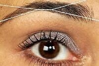 $4/treading eyebrows LAVAL 514-400-6316 amelie