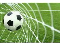 Goalkeepers needed for a 7-a-side game of football