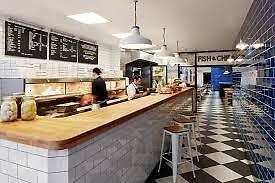 chef de partie @ Hobson's fish and chips bayswater starting wage £9 per hour