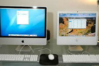 2 working imacs