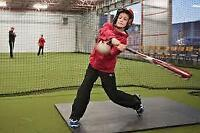 Baseball, softball training centre! call for spring training!