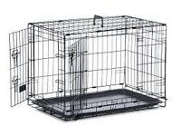Meduim dog cage.