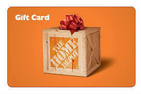 Buying! Home Depot Gift Cards for 30% off Face Value