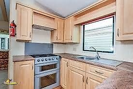Contractor Accommodation Luxury 8 Berth 3 bed Static Glazed & Heated Sand le Mere Tunstall, E Yorks