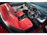 TOYOTA IQ leather seat kit Black&Red