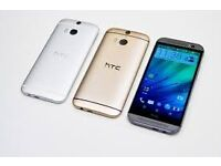 HTC M8 UNLOCKED BRAND NEW COMES WITH WARRANTY AND ACCESSORIES