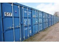 Self Storage Containers close to Chelmsford and A12, junction 16. £34.60/week,£150 /month