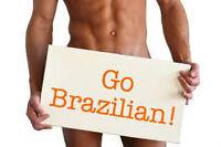 BRAZILIAN WAXINGS OR SHAVING, SWEDISH MASSAGE and ESTHETICS